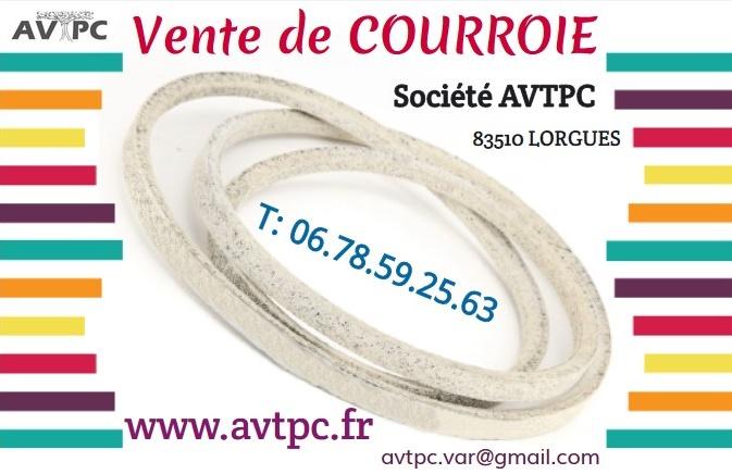 Dracénie Provence Verdon Agglomération - AVTPC Courroie VAR 83